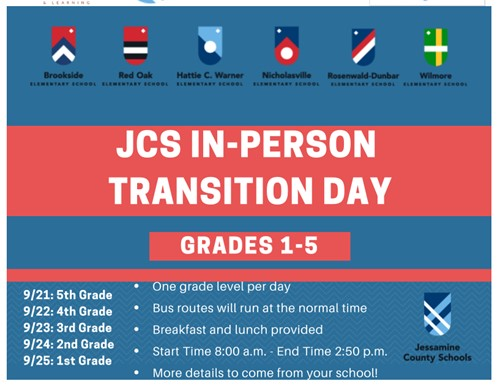 JCS In-Person Transition Day