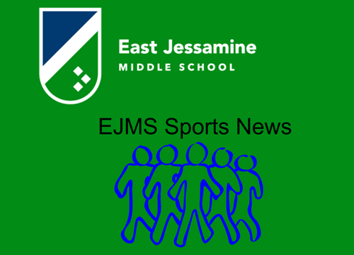 EJMS Sports on green background