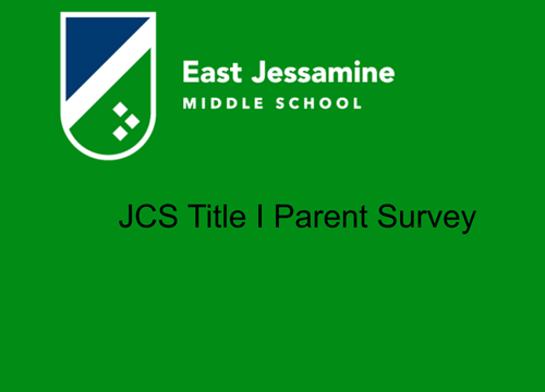 JCS Title 1 Parent Survey