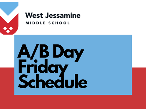A/B Day friday schedule