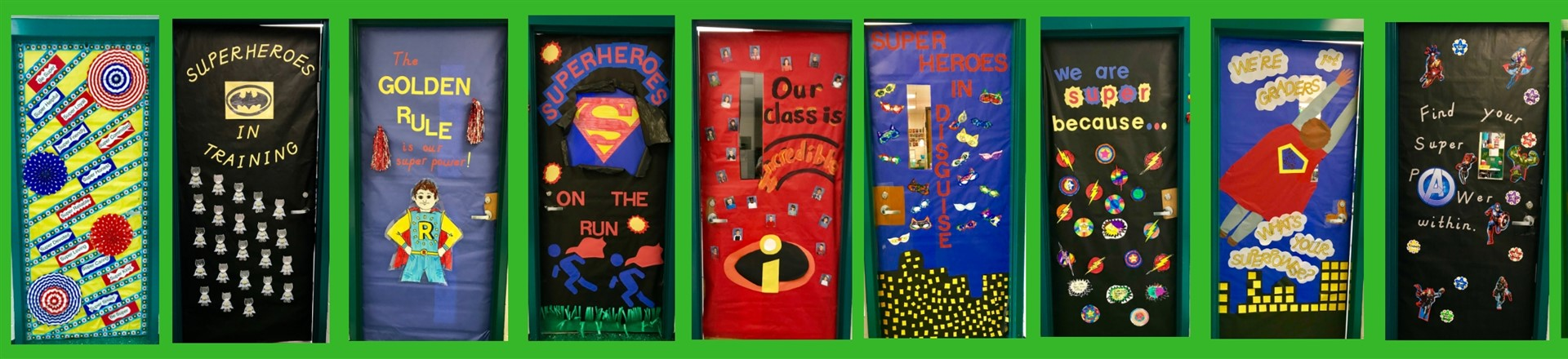 Superhero Doors