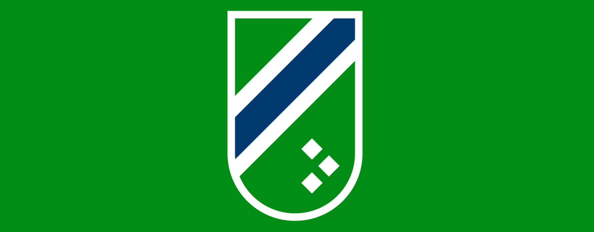 crest on green